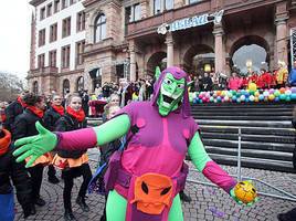 Germany Wiesbaden Carneval 2013 Green Goblin
