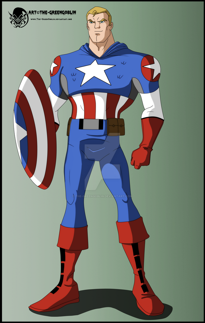 Captain America Baby Shower Cake Ideas