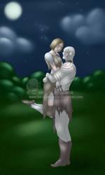 Art-Trade - Azog  and Maronna by The-GreenGoblin