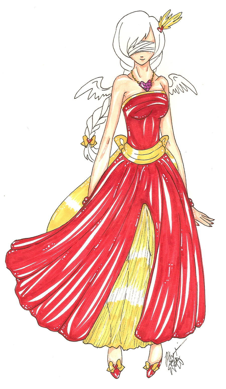 Fancy Anime Gowns Picture Collection - Ball Gown Wedding Dresses ...