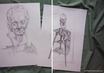 Portrait studies by e-MMasArt