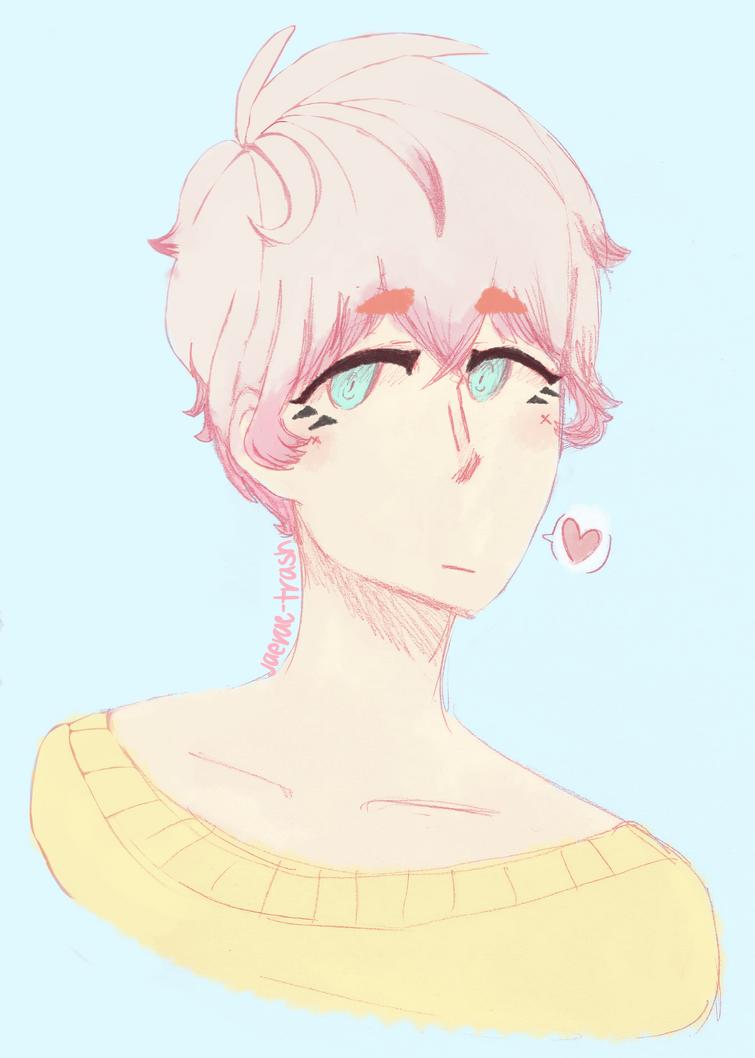 cotton candy boy by Jaerae-trash