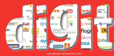 Digit logo by varundubey