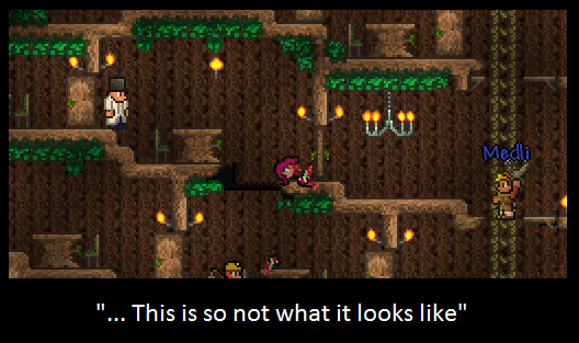 Terraria dryad quotes - Alex Needs To Reread The Rules Terraria Players By