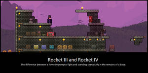 It Wasn't Bombs This Time. Terraria Players. by LittlewriterLink