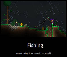 Equipment Uses. Terraria Players. by LittlewriterLink