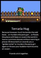 Friendship. Terraria Players by LittlewriterLink