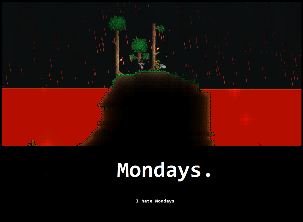 Terraria dryad quotes - Weekly Disputes Terraria Players By Littlewriterlink On