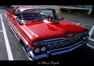 '59 Impala 1 by shadowgearx