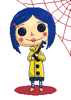 Coraline's doll by Rebeca-Honney