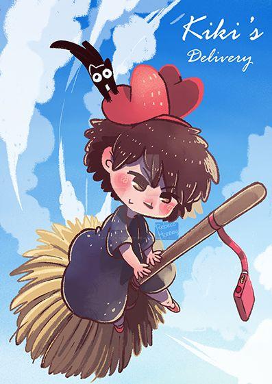 Kiki's Delivery by Rebeca-Honney
