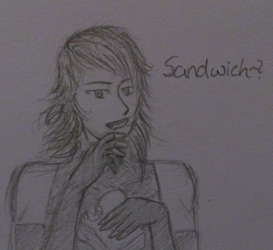sandwich. by ChaosLucy