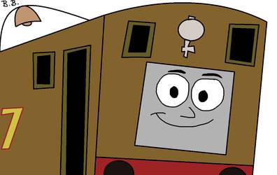 Toby the Steam Tram Engine (My Style) by BrendanDoesArt
