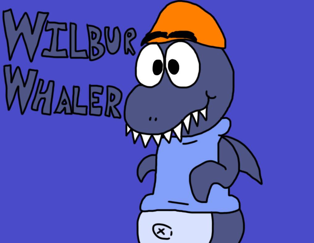 Wilbur Whaler Poster by BrendanDoesArt