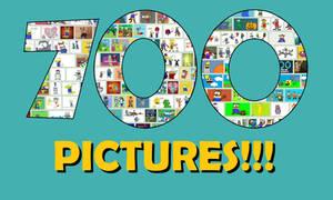 700 PICTURES ON DEVIANTART!!! (REUPLOAD)