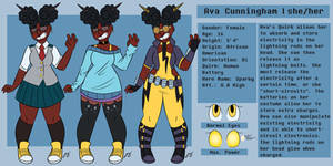 BNHA OC: Ava Cunningham