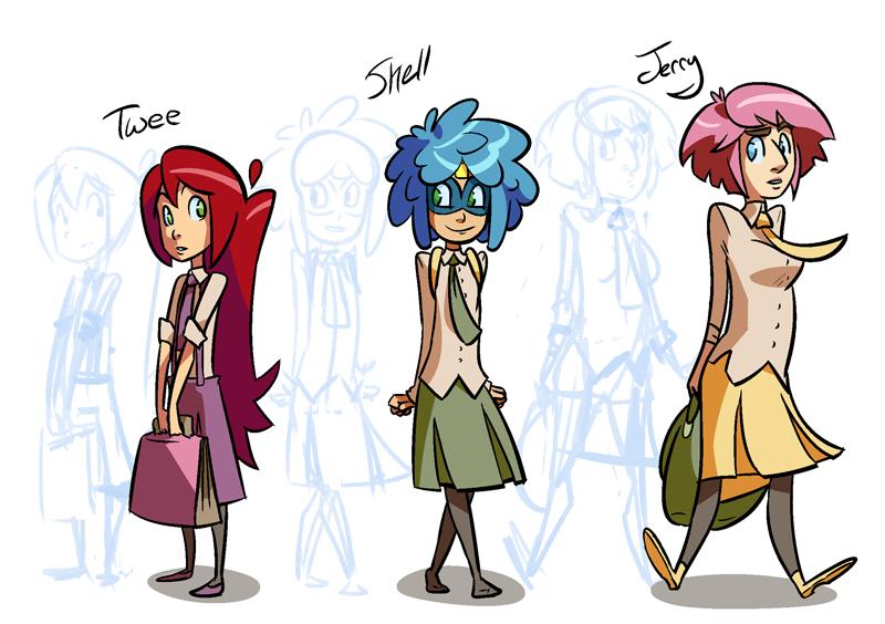 School Girls by zeratanus