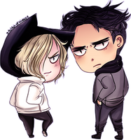 :Yura and Beka: by a-clash-of-kingss