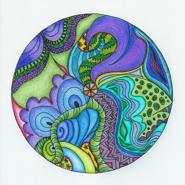 psychadelic mandala by Monalisa8664