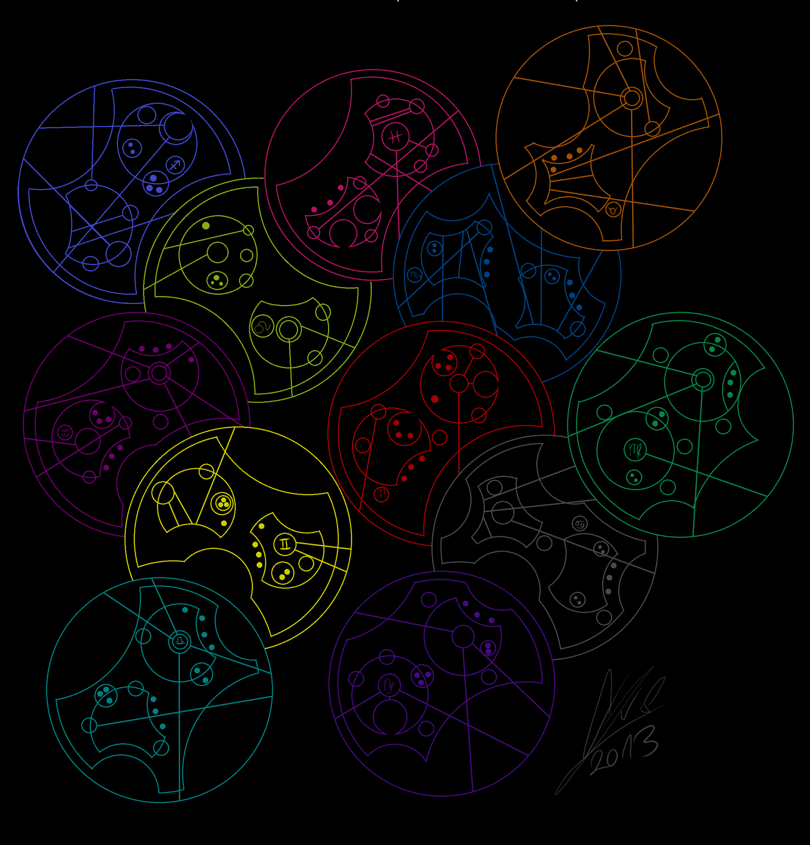 gallifreyan symbols wallpaper - photo #8