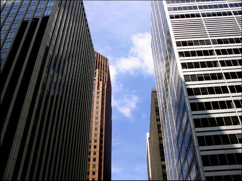 Between Buildings by nrgizrbuni