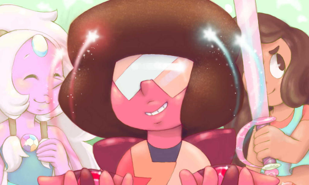 Tried some weird hand angles, I hope they turned out alright >~< Aah Stevenbomb hype is real!