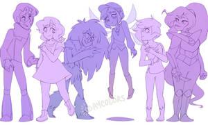 Group doodlin