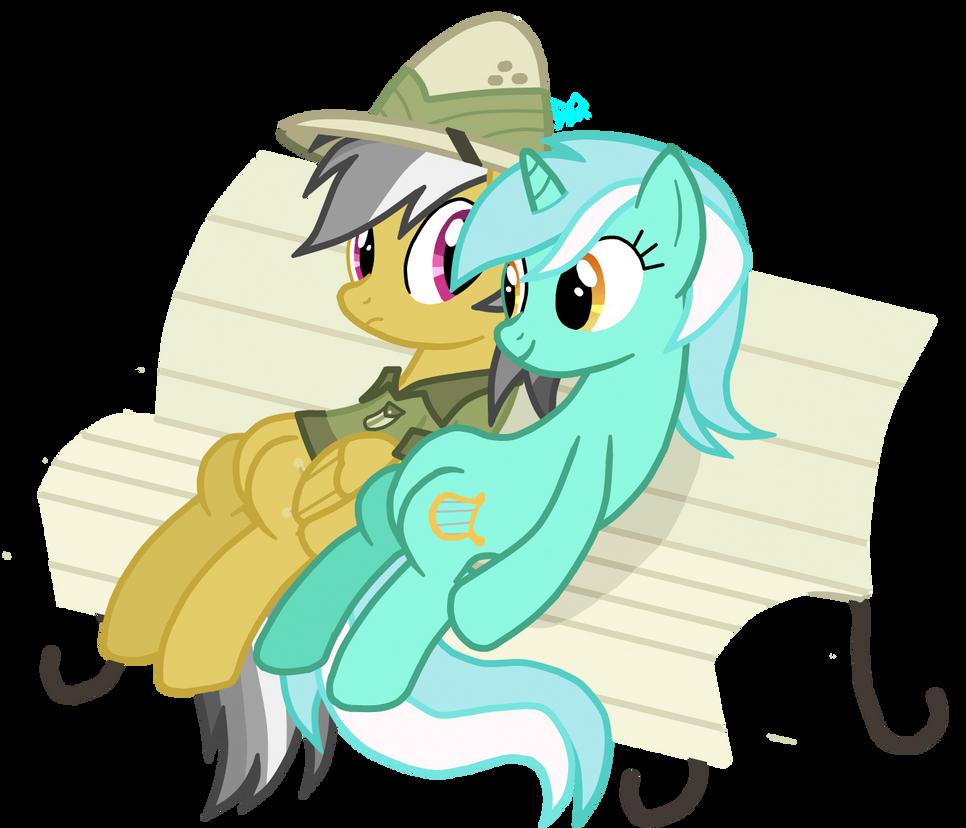 Daring-Do and Lyra Heartstrings