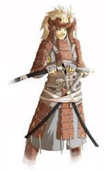 Samurai Comiss by MoonFX