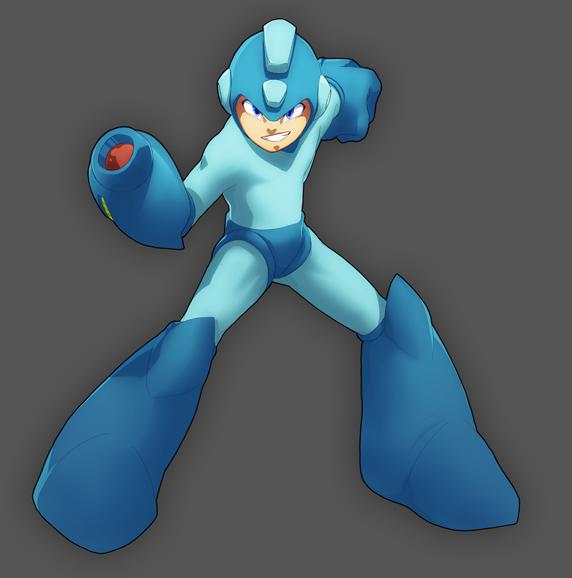 Megaman by MoonFX
