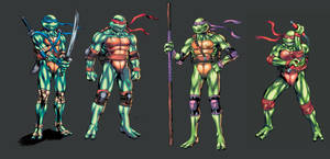 Tmnt Concepts by MoonFX