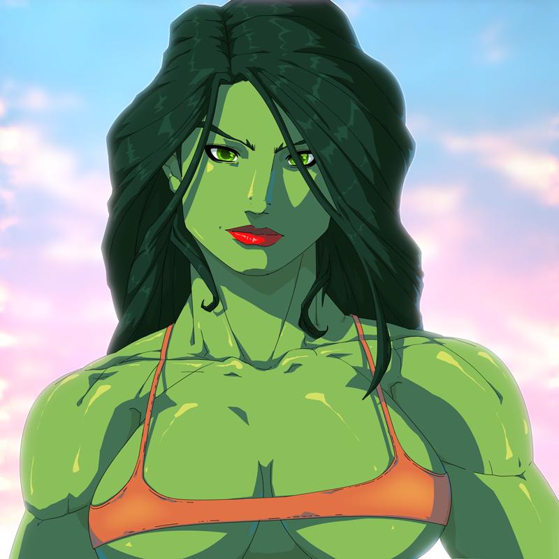 She-Hulk by MoonFX