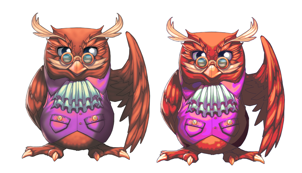 Owl companion by MoonFX