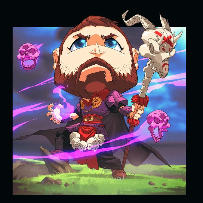 BattleGoats - Hero Brian by MoonFX