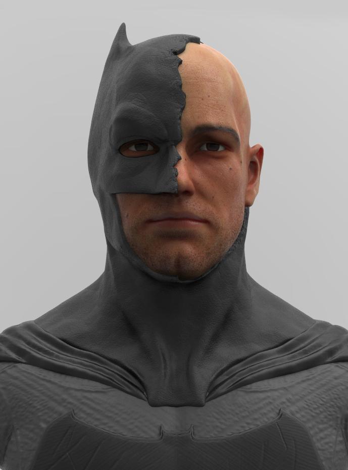 Ben Affleck Batman Cowl Replica Batman Cowl Ben Affleck