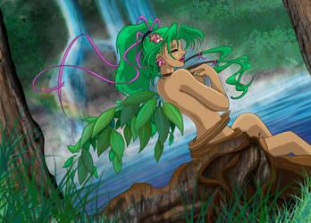 Earthy elemental faerie by dshwshr55