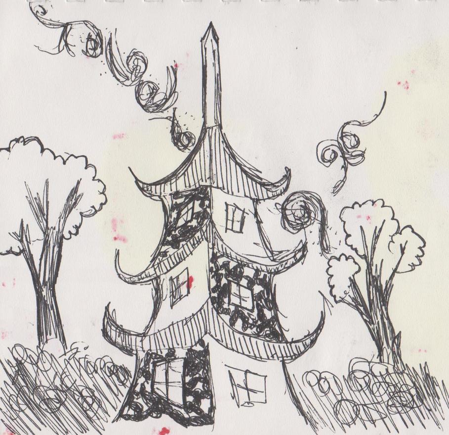 Crazy Castle by sasuraicat