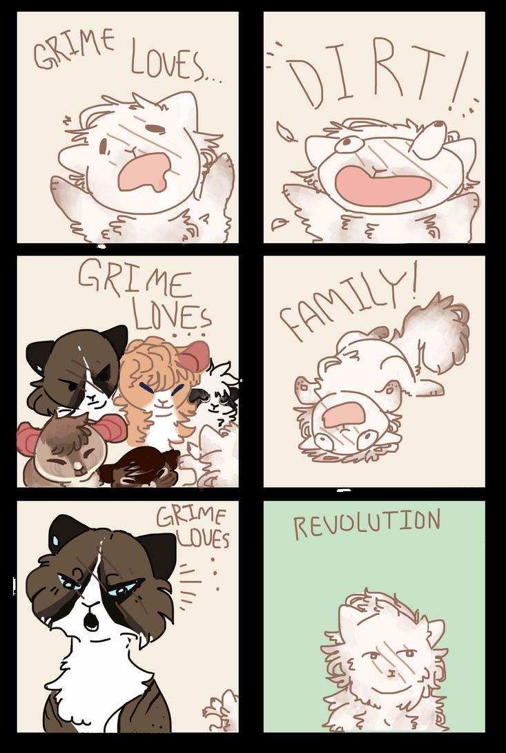 Dirt, Family, Revolution. tGB by ghostingkaki