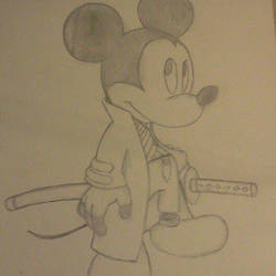 Samurai Mickey Mouse