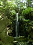 Japan Waterfall