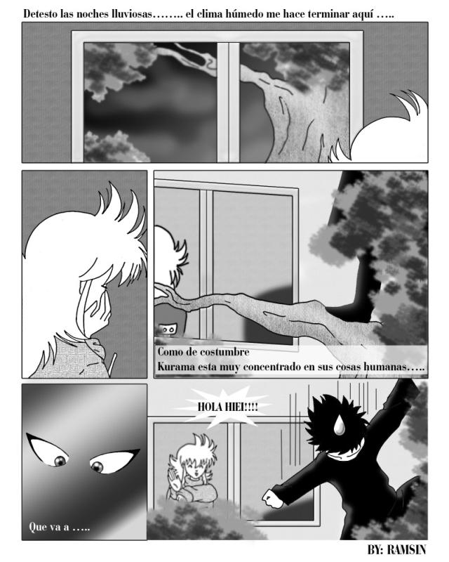 kurama x Hiei doujinshi 1 by ILITIAFOREVER