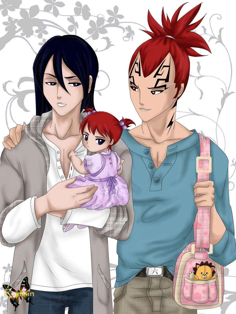 Family Renji x Byakuya by ILITIAFOREVERByakuya X Renji Lemon