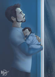 Tony and peter mpreg by ILITIAFOREVER