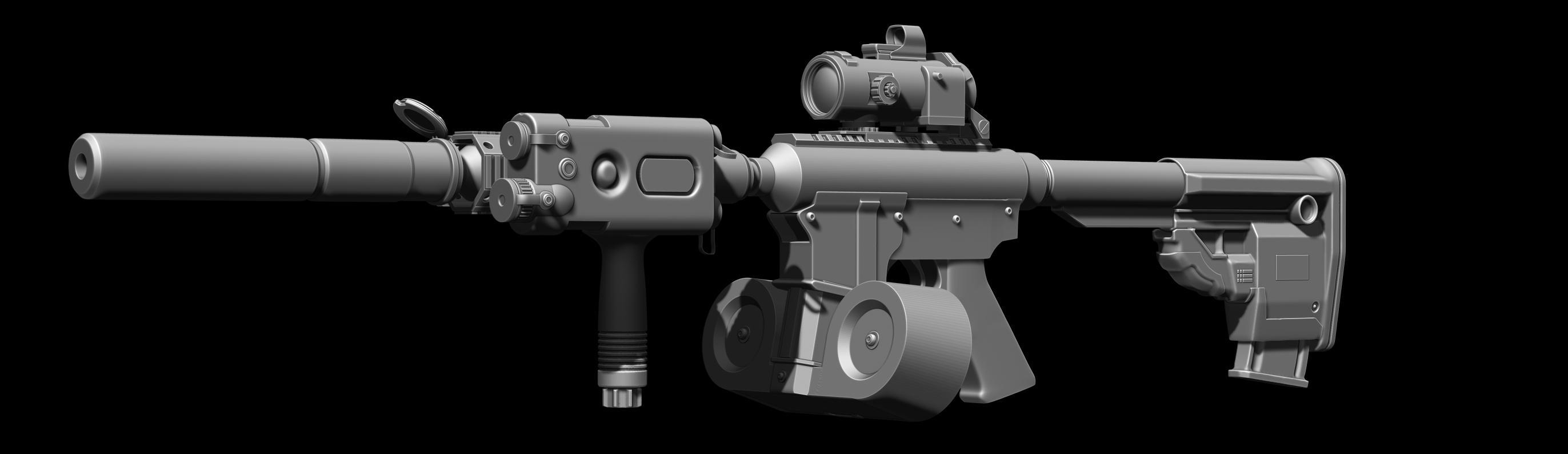 M4 Assault Rifle By Chofni1996 On DeviantArt
