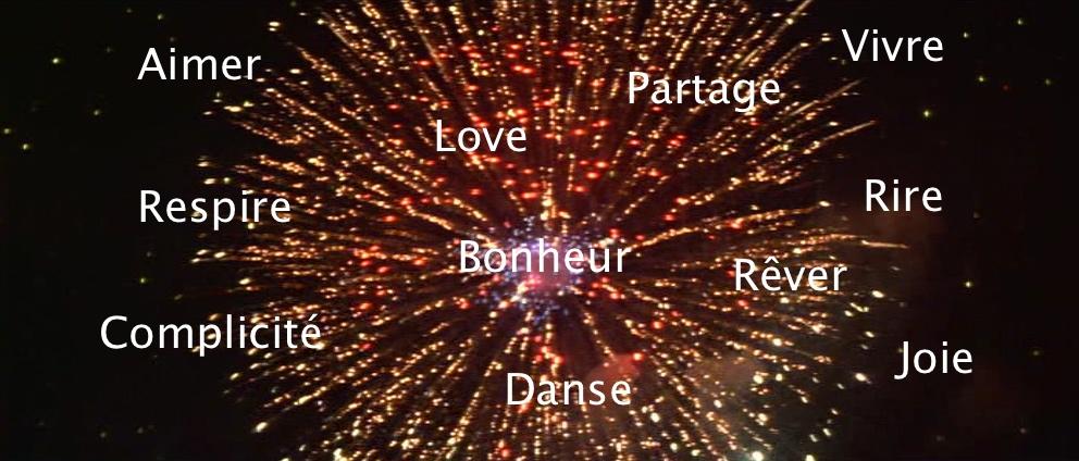 feu d'artifice du bonheur by lilouche