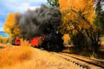 Autumn Train 28Jan2016t by MSchmidtProductions
