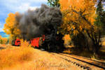 Autumn Train 28Jan2016t by MSchmidtProductions