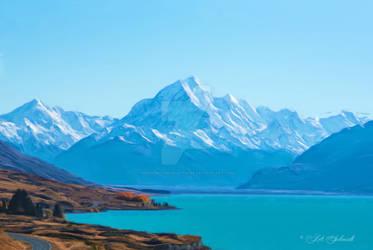 GlacierNationalPark-CH-2632-1649-Painting