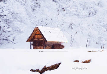 CabinSnow-2632-1167941-Painting