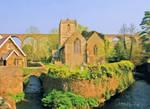 ChurchGraveyardStone-2632-666431-Painting